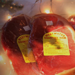 Country-Ham-at-Briggs-Hardware-Store